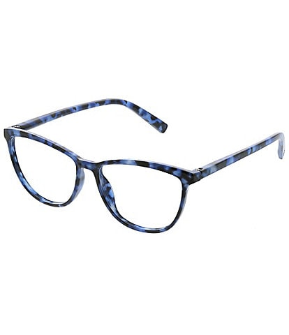 Peepers Bengal Square Blue Light Reader Glasses