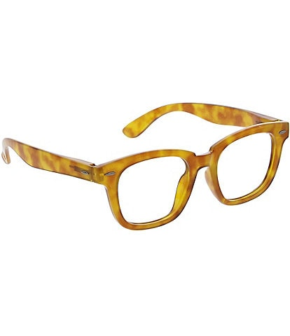 Peepers Frontier Honey Tortoise Blue Light Reader Glasses