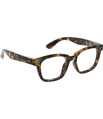 Peepers Frontier Tortoise Blue Light Reader Glasses