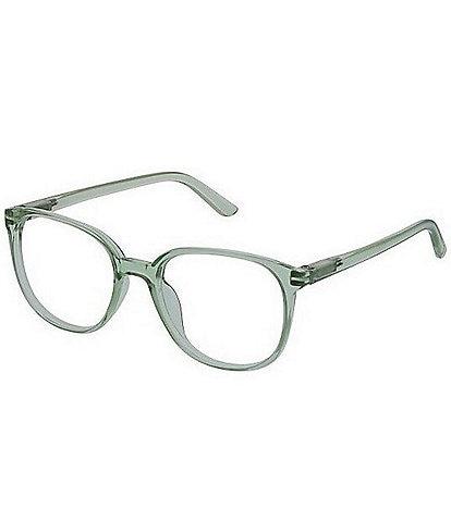 Peepers Heirloom Mint Blue Light Reader Glasses