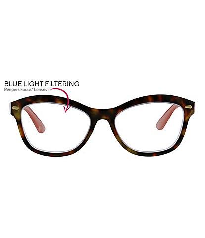 Peepers Monterey Bay Blue Light Reader Glasses