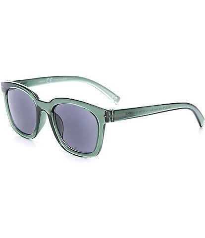 Peepers To The Max Green Reading Sunglasses