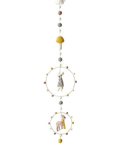 Pehr Baby Magical Forest Animal Hoop Mobile