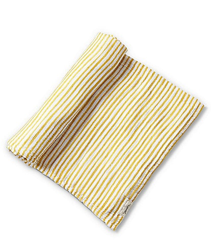 Pehr Baby Stripes Away Organic Cotton Swaddle Blanket