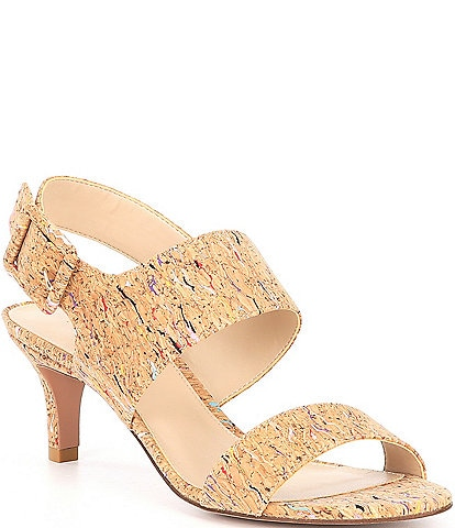 Pelle Moda Bixby Cork Dress Sandals