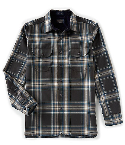 Pendleton Buckley Flannel Long-Sleeve Woven Shirt