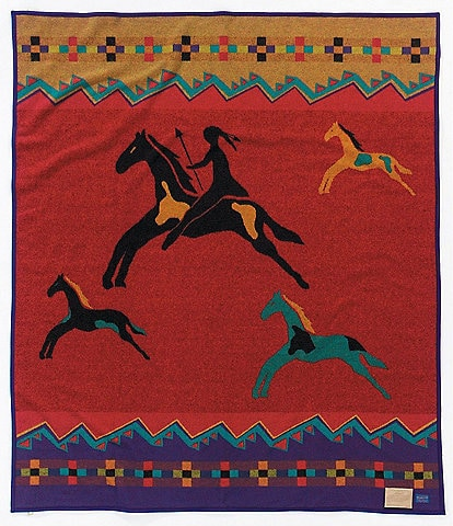 Pendleton Celebrate the Horse Throw Blanket