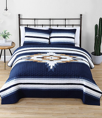 Pendleton Chief Star Pieced Quilt Set