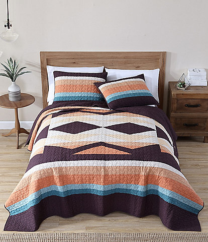 Pendleton Crescent Butte Pieced Quilt Mini Set