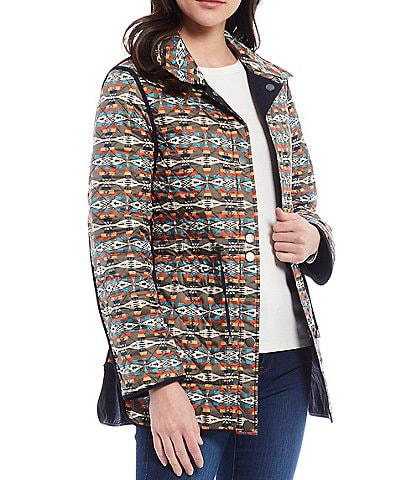 Pendleton Meadow Quilted Reversible Anorak Jacket