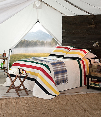 Pendleton National Park Glacier Quilt Mini Set