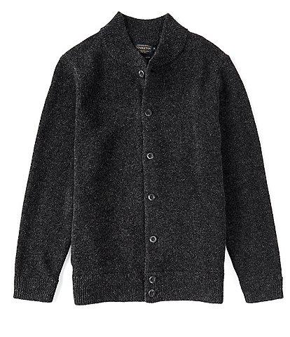 Pendleton Shetland Wool Bomber Cardigan