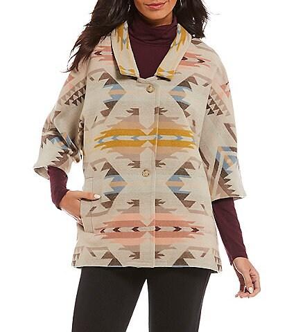 Pendleton White Sands Kimono Sleeve Jacket