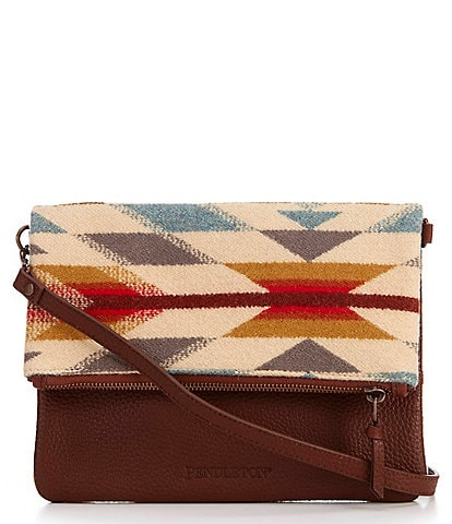 Pendleton Wyeth Trail Foldover Clutch