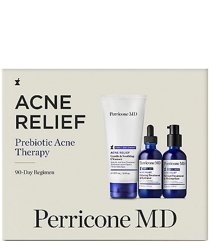 Perricone MD Acne Relief Prebiotic Acne Therapy Set