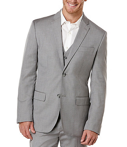 Perry Ellis Big & Tall Herringbone Sportcoat