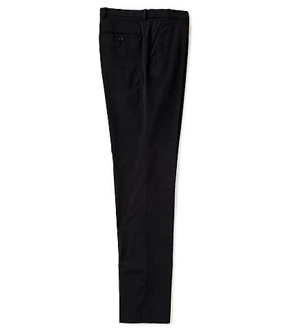 Perry Ellis Big & Tall Slim-Fit Flat-Front Solid Stretch Suit Pants