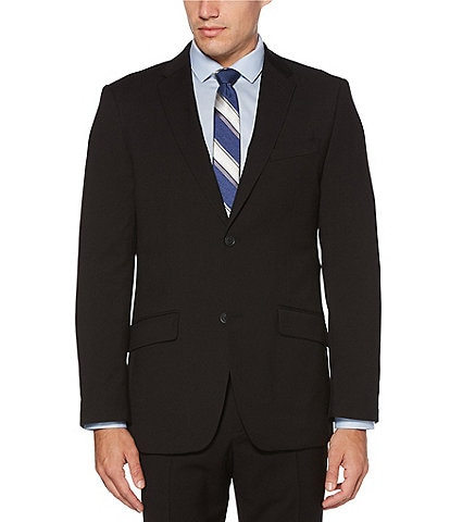 Perry Ellis Big & Tall Solid Performance Stretch Suit Separates Jacket