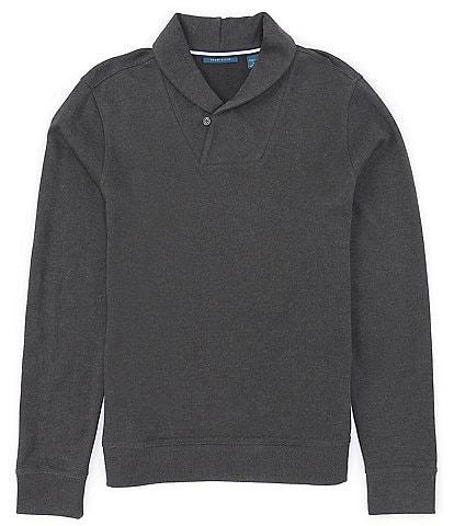 Perry Ellis Ls Shawl Collar Sweater