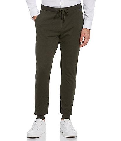 Perry Ellis Motion Slim-Fit Ponte Knit Performance Stretch Jogger Pants