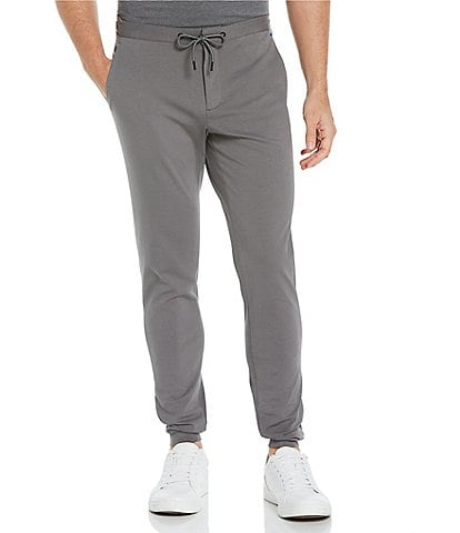 Perry Ellis Ponte Knit Performance Stretch Jogger Pants