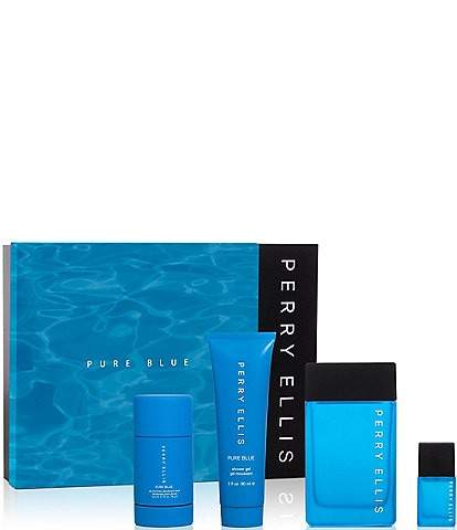 Perry Ellis Pure Blue Gift Set