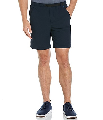 Perry Ellis Ripstop Performance Stretch 8#double; Inseam Shorts
