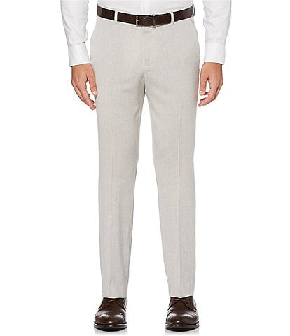 Perry Ellis Slim-Fit End-On-End Stretch Suit Separates Dress Pants