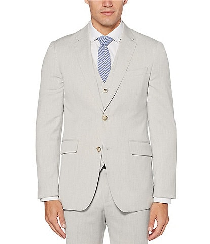 Perry Ellis Slim-Fit End-On-End Stretch Suit Separates Jacket
