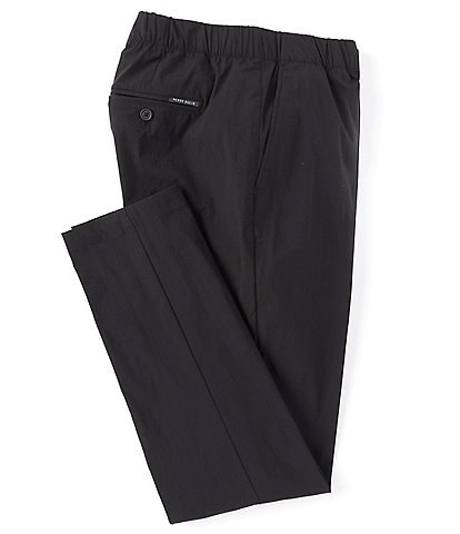 Perry Ellis Slim-Fit Flat-Front Stretch Drawcord Pants