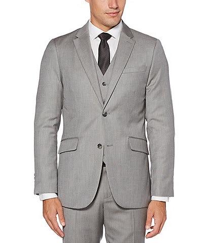 Perry Ellis Slim-Fit Herringbone Suit Separates Jacket