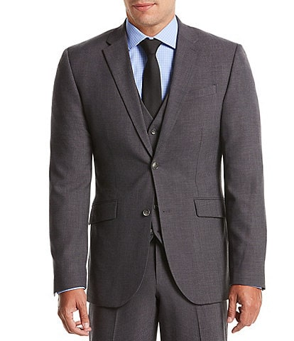 Perry Ellis Slim-Fit Sharkskin Bi-Stretch Suit Separates Jacket