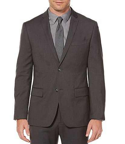 Perry Ellis Slim-Fit Solid Suit Separates Jacket