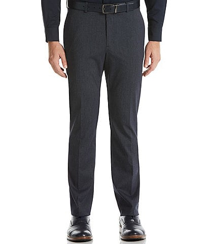 Perry Ellis Slim-Fit Stripe Stretch Washable Suit Separates Dress Pants