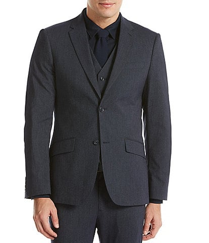 Perry Ellis Slim-Fit Stripe Washable Suit Separates Jacket