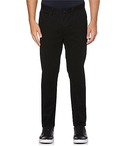 Perry Ellis Slim-Fit Wrinkle-Resistant Water-Repellent Stretch 5-Pocket Pants
