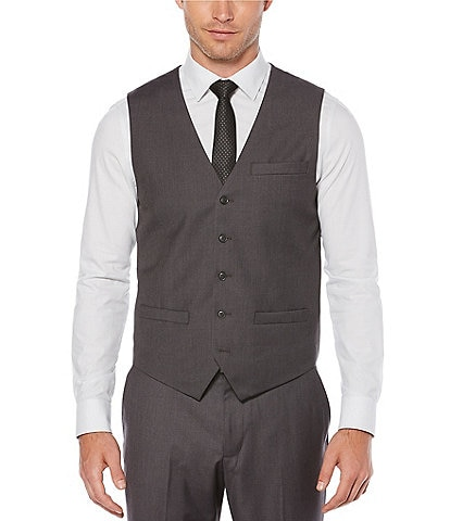 Perry Ellis Solid Suit Separates Vest