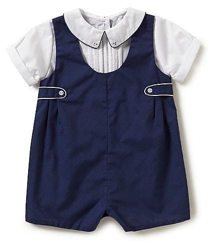 Petit Ami Baby Boys 3-9 Months Shortall