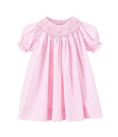 Petit Ami Baby Girls 12-24 Months Smocked Gingham Dress