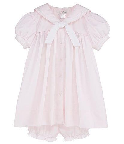 9b4dc616f Petit Ami Baby Girls 3-24 Months Nautical Sailor-Collar Dress