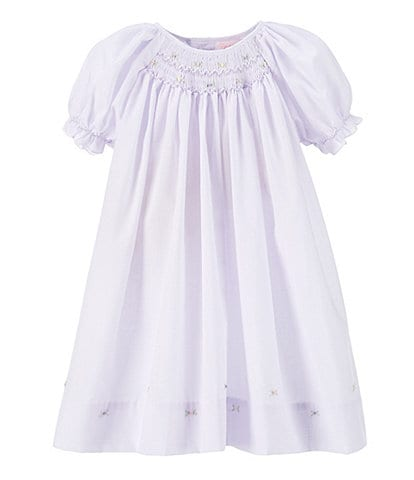 Petit Ami Baby Girls Preemie-9 Months Smocked Dress