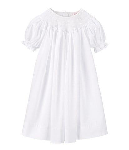 Petit Ami Baby Girls Newborn-9 Months Smocked Christening Gown