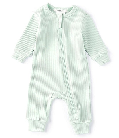 Petit Lem Baby Newborn-9 Months Ribbed Knit Long Sleeve Coverall