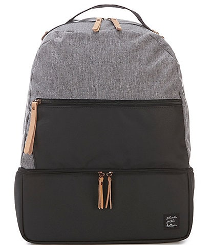 Petunia Pickle Bottom Colorblock Axis Canvas Backpack Diaper Bag