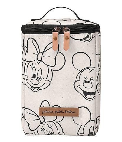 Petunia Pickle Bottom Cool Pixel Plus Bag - Sketchbook Mickey & Minnie