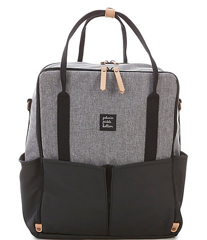 Petunia Pickle Bottom Inter-Mix Colorblock Backpack Diaper Bag