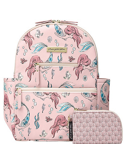 Disney x Petunia Pickle Bottom Little Mermaid Ace Diaper Bag Backpack