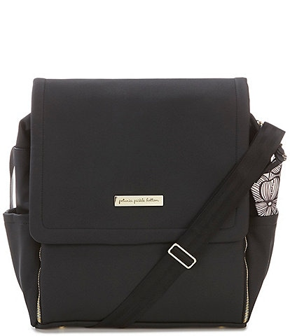 Petunia Pickle Bottom Matte Leatherette Boxy Backpack Diaper Bag