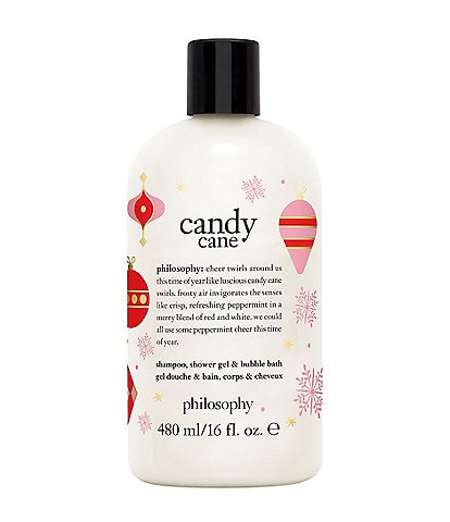 philosophy Candy Cane shampoo, shower gel & bubble bath Limited Edition