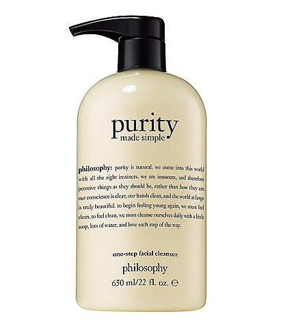 philosophy Purity Made Simple Facial Cleanser